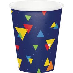 8 TEXAS HOLD/'EM 9oz PAPER CUPS ~ Casino Birthday Party Supplies Beverage Drink