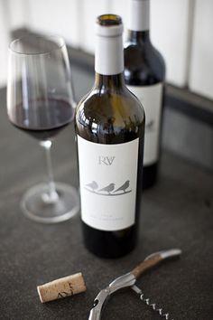 Wine  Love the label.