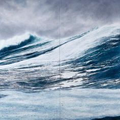 Tom Phelan ocean paintings