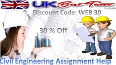 #Civil_Engineering_Assignment Help in achieving target scores with providing with #UK_Best_Tutor combination of knowledge and assistance in explaining complicated concepts by #preparing_assignments.  Visit Here https://www.ukbesttutor.co.uk/engineering-assignment-help  Live Chat@ https://m.me/ukbesttutor  For Android Application users https://play.google.com/store/apps/details?id=gkg.pro.ukbt.clients&hl=en