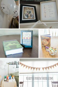 Throwing a Harry Potter Inspired Baby Shower - Ready...Set...Parenthood!