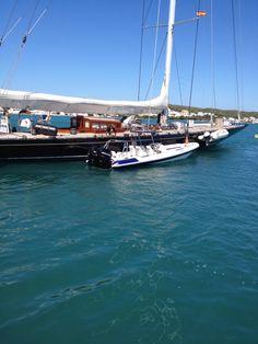 Hydromax 10.5 in Menorca with SY Hanuman