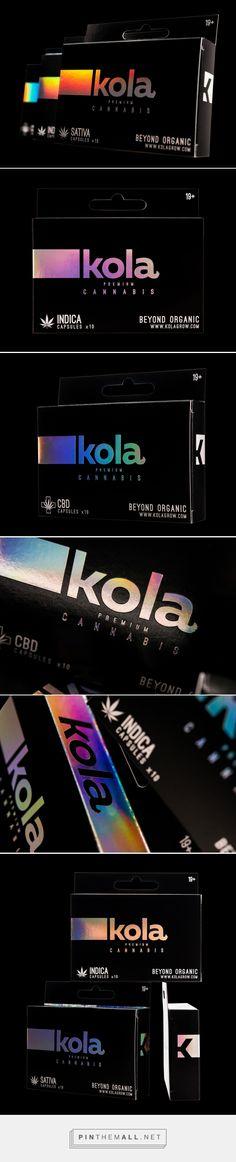 Kola Premium Cannabis - Packaging of the World - Creative Package Design Gallery - http://www.packagingoftheworld.com/2016/09/kola-premium-cannabis.html