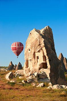 Hot Air Baloons over the Fairy Chimneys near Göreme [ Goreme ] , Cappadocia Turkey Turkey Photos, Cappadocia Turkey, Life Is Like, Pictures Images, Hot Air Balloon, Mount Rushmore, Greece, Photo Galleries, To Go