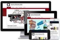 Creazione sito internet per Centro Stampa Alfa