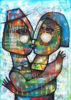 The Kiss  by Dan Casado