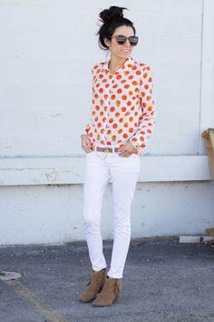 Citrus blouse