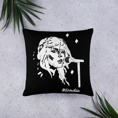 £19.00 – £21.50Pillow, Cushion, Blondie BandA strategically placed accent can bring the whole room to life, and this pillow is just what you need to do that. What's more, the soft, machine-washable case with the shape-retaining insert is a joy to have long afternoon naps on. • 100% polyester case and insert • Hidden zipper • Machine-washable case • Shape-retaining polyester insert included (handwash only) • Blank product components in the US sourced from China and t Blondie Band, Facebook T Shirt, Cushions For Sale, Afternoon Nap, Home Decor Items, Art Studios, Fashion Prints, This Is Us, Joy