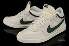 Nike SB Challenge Court Mid 'Swan/Gorge Green-Black' at Premier