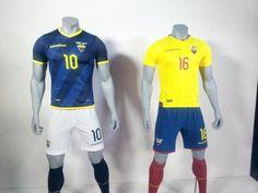 Selección de Ecuador tiene nueva camiseta para las eliminatorias al Mundial 2018 - Fútbol - Deportes | El Universo