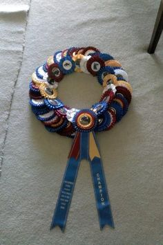 Great idea for all those ribbons