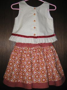 """For my Granddaughters 5th Birthday.  Fabric from """"Mama Said Sew""""  Fort Collins, CO"""