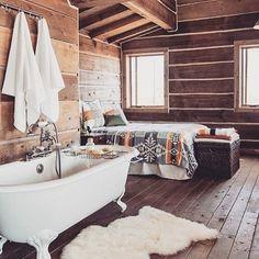 Cabin life.