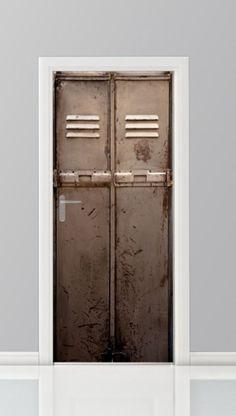Deursticker - 12203045 Tall Cabinet Storage, Locker Storage, Door Stickers, Door Design, Windows And Doors, Man Cave, Armoire, Kids Room, Prints