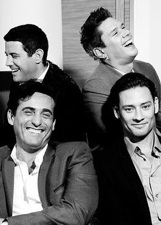 Il Divo. I love it when they smile!