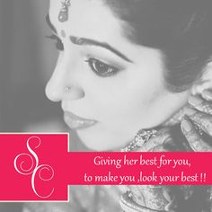 SHIKHA CHANDRA~ putting her best efforts to make you look perfect!