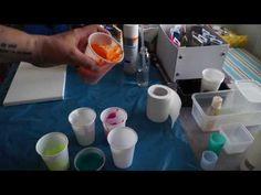 Anleitung / Instruction / Fluid Acrylic Painting / Fließtechnik Acryl Malerei - YouTube