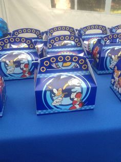 Sonic the Hedgehog Birthday Party Ideas Sonic Birthday Parties, Sonic Party, 5th Birthday Party Ideas, 8th Birthday, Sonic The Hedgehog, Sonic Cake, Power Ranger Birthday, Hedgehog Birthday, Tinkerbell Party