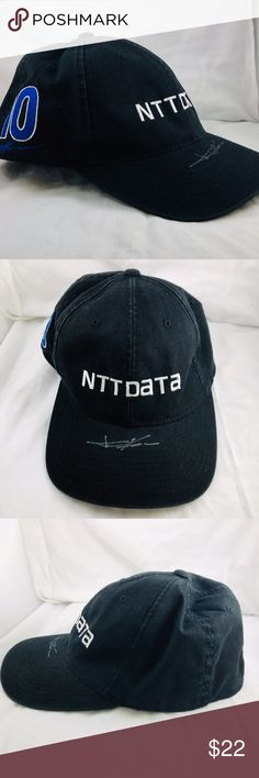 reputable site 62d17 88b06 Ganassi Racing NTT Data Tony Kanaan autograph Hat Tony Kanaan  10  Autographed NTT Data Strap Back Flex Fit Hat - Indy 500 Winner. Great  condition .