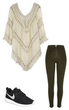 """Sans titre #4549"" by heidi-samoyau ❤ liked on Polyvore featuring River Island and NIKE"
