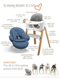 Innovative Stokke Steps Is A Modular Bouncer + High Chair System That  Brings Baby To The Family Table From Day 1 .