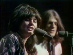 Linda Ronstadt, 1971, with Glenn Frey. Later in 1971, Frey and the rest Linda's backup band, Don Henley, Bernie Leadon and Randy Meisner, left to form the Eagles.