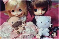 #Namine and Kairi love cats!!! <3  Like,Repin,Share, Thanks!