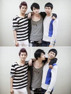 Yoochun trying to resist a sexy kiss from Jaejoong... Don't resist the Jaejoong! <3~JYJ~<3