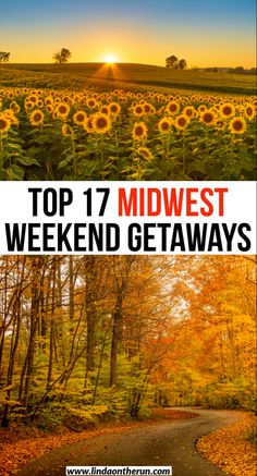 Road tripping in the USA? Here are 17 epic midwest weekend getaways| Weekend getaways in the midwest| romantic midwest getaways| midwest vacation spots| #midwest #usa #romantic #travel