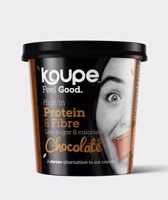 Koupe is the world's tastiest & AWARD WINNING protein ice cream. Your favourite ice cream is now not only be tasty, but also good for you.