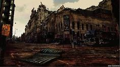 post-apocalyptic manchester - by j.chadderton