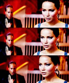 Katniss Everdeen!!!! I CANNOT WAIT TO SEE THIS PART!!!!