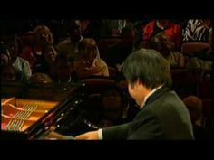 The Blindness Pianist Nobuyuki Tsujii (辻井信行) - Liszt Paganini Etude No.3,  2009 Van Cliburn International Piano Competition(WIDE)