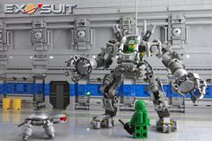 LEGO | Exo-Suit - Alternate hangar shot #space