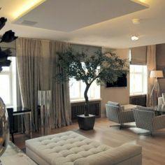 Penthouse: olohuone ‹ Sisustussuunnittelija Milla Alftan
