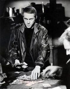 Steve McQueen, The Cincinnati Kid (1965). ☑  Sam Page ☺