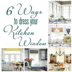 6 Ways to Dress a Kitchen Window | Centsational Girl