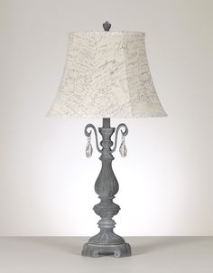 Vintage Casual Shan Poly Table Lamp by Signature Design by Ashley Furniture for $99