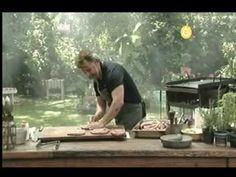 Maestros Parrilleros: Como hacer Matambre de Cerdo, Provoletas y Salchichas Parrilleras - YouTube Barbacoa, Chefs, South America, Brazil, Youtube, Grilling, Cooking Recipes, Fire, Smoke