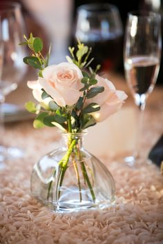 Photo: Arrowood Photography - wedding centerpiece idea