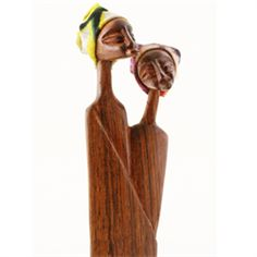 Maria Luisa Boutique | ML by Maria Luisa - Swahili Commitment Sandalwood Sculpture
