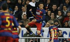 Real Madrid 0-4 Barcelona PLAYER RATINGS: Deadly Neymar inspires romp