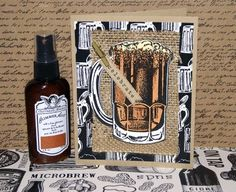 Handmade Masculine card idea - father's day or birthday - hand painted beer mug #cardmaking Paint Cards, Wine And Beer, Beer Tasting, Beer Mugs, Travel Scrapbook, Recipe Cards, Masculine Cards, Mini Books, Whisky