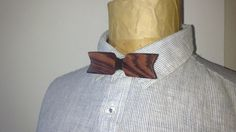 Noeud papillon réversible en bois de Violette : Echarpe, foulard, cravate par…