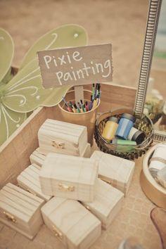 Custom Dessert Tables   Peter Pan Neverland Birthday Party   Jenny Cookies
