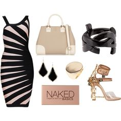 black/pink by sotheskysblue on Polyvore featuring polyvore, fashion, style, Tory Burch, Yves Saint Laurent, Lane Bryant, Kendra Scott and Urban Decay
