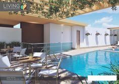 LIVING 62 APARTAMENTOS, LIVING 62 es un edificio residencial de 10 niveles, con una terraza panorámica ubicada en el nivel 11