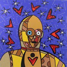 by Romero Britto Graffiti Painting, Graffiti Art, Pablo Picasso, Pop Art, Art Criticism, Popular Art, Star Wars Rebels, Pin Up Art, Elementary Art
