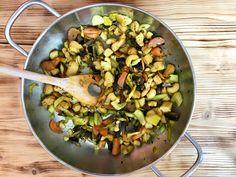 Jarní zeleninová směs s tofu a žampiony Tofu, Kung Pao Chicken, Metabolism, Ethnic Recipes