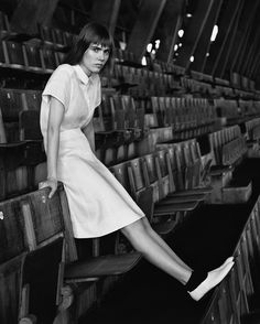 SPRING SUMMER 2016 CAMPAIGN Photographed by Alasdair McLellan at the National Sports Centre, Crystal Palace, London.